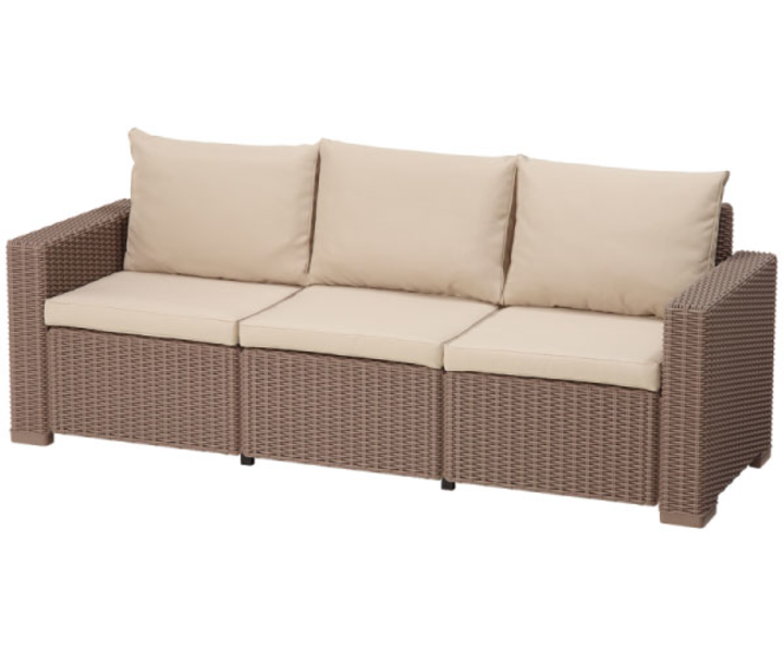 Калифорния сет (California 3 seater set) Капучино