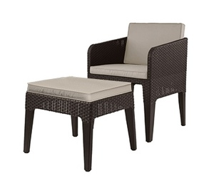 Колумбия мини (Columbia mini balcony set) Коричневый
